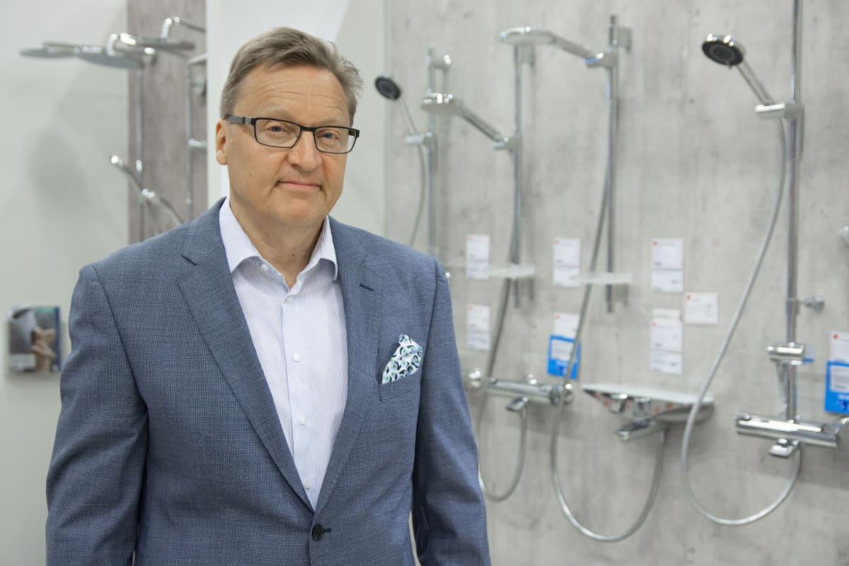 Oras-hanavalmistajan Itä-Euroopan myyntijohtaja Timo Mikkonen