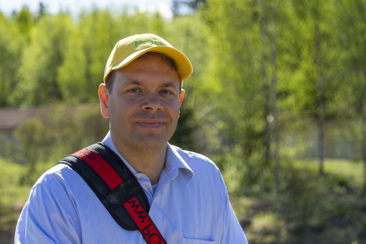 Puuni Oy tieteellinen johtaja Juha Siitonen