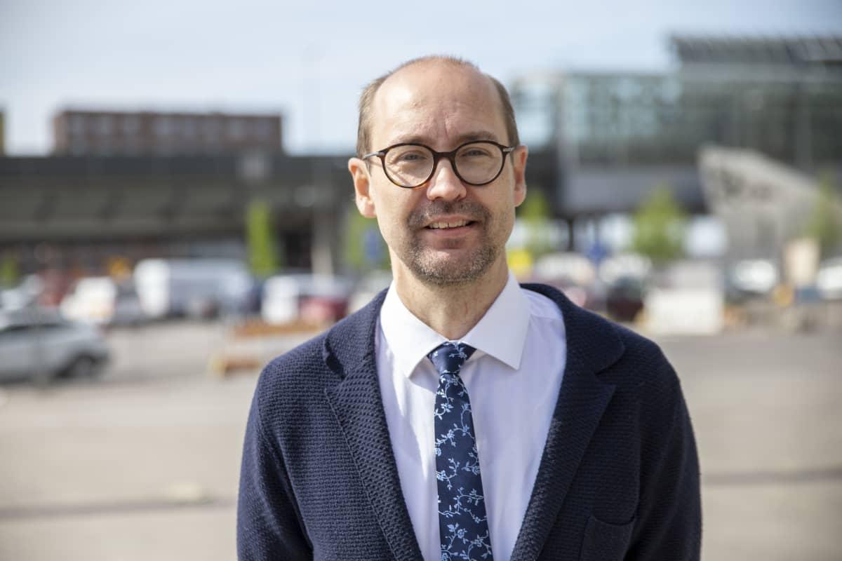 Toimitusjohtaja Tero Kallio Autotuojat ja -teollisuus ry.