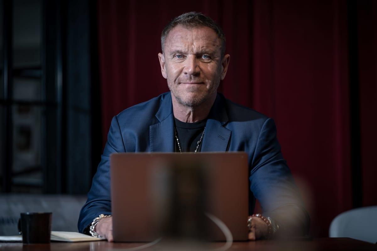 Elokuvaohjaaja Renny Harlin, Solar Films, Helsinki, 8.6.2020.