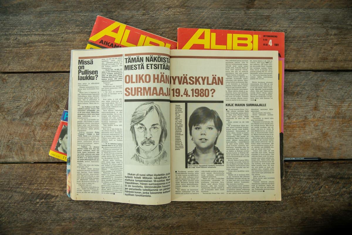 Alibi-lehden juttu Maire Vepsäläisestä