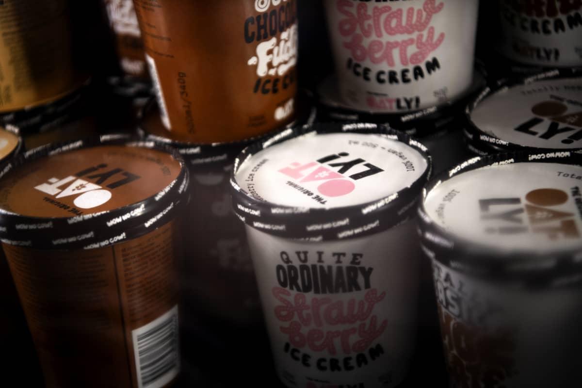 Kaupan jäätelöallas.