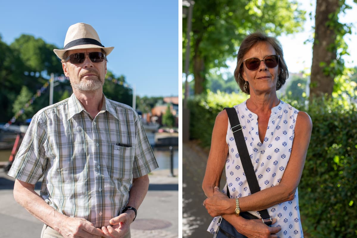 Matti Ruohonen ja Marja-Leena Orko