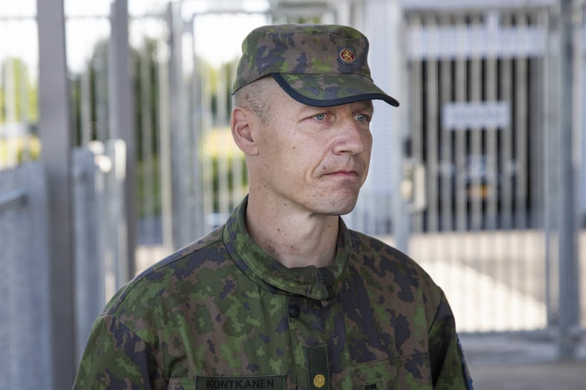 Karjalan lennoston majuri Marko Kontkanen.