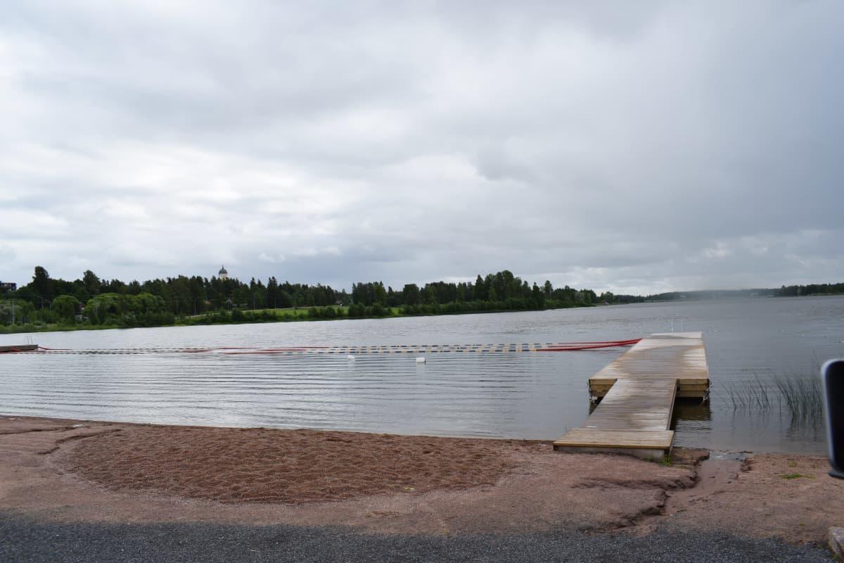 RIvieeran uimaranta Kankaanpäässä.