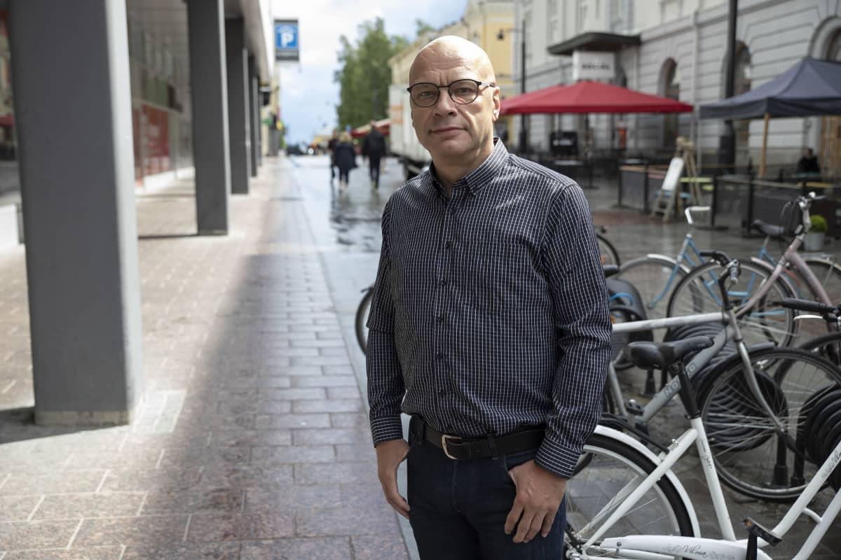 Pääluottamusmies ja työsuojeluvaltuutettu Timo Tiikkaja.