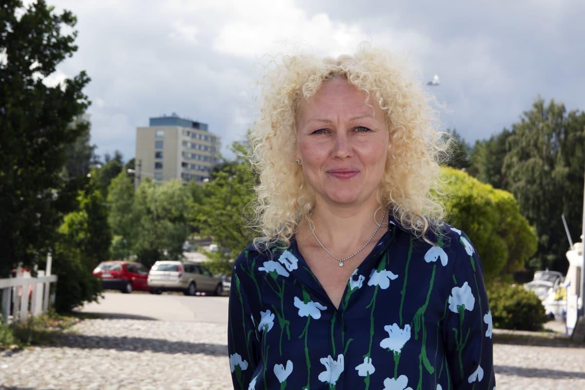 Tampereeen kaupungin kasvupalvelujen palvelupäällikkö Elina Wallin