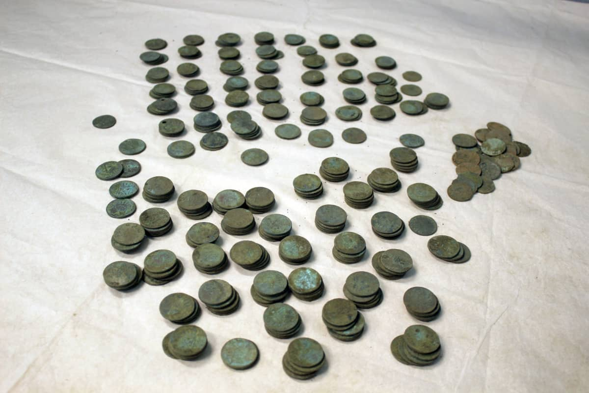 1700-luvun kupariäyrejä