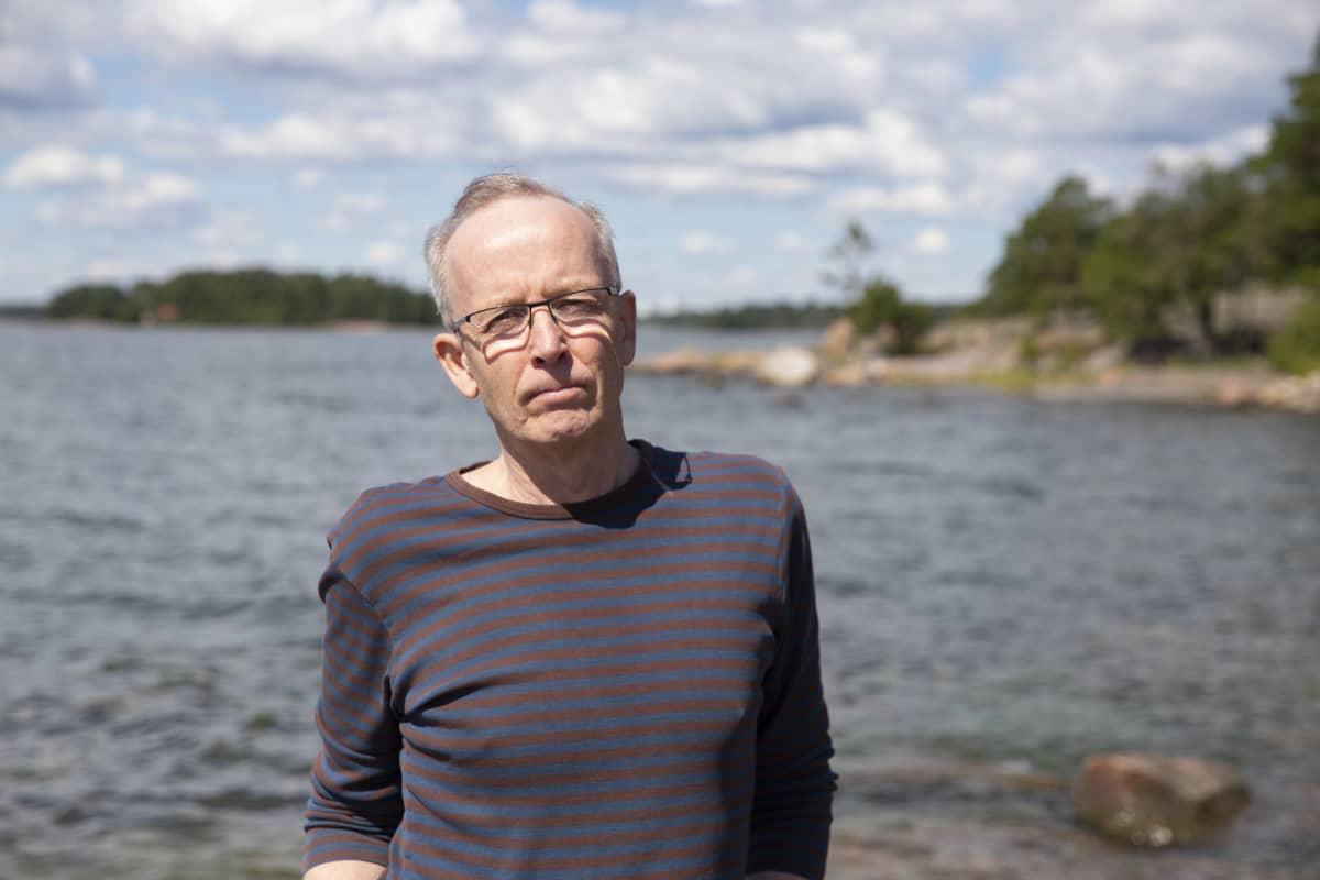 Seppo Knuuttila, tutkija, Suomen ympäristökeskus.