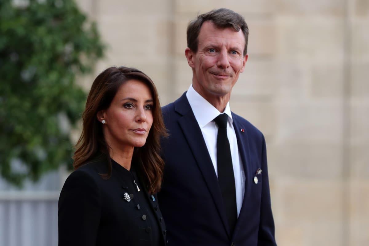 Prinsessa Marie ja prinssi Joachim.