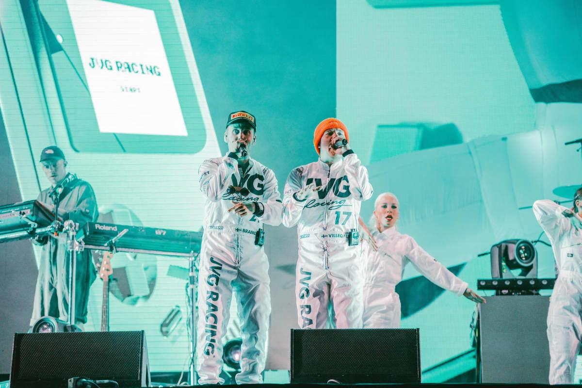 JVG esiintymässä Ilosaarirock -festareilla 2019