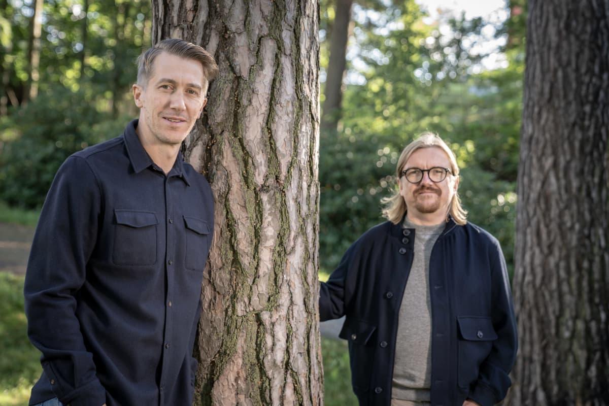 Jussi Vatanen ja Ville Jankeri pk vaka