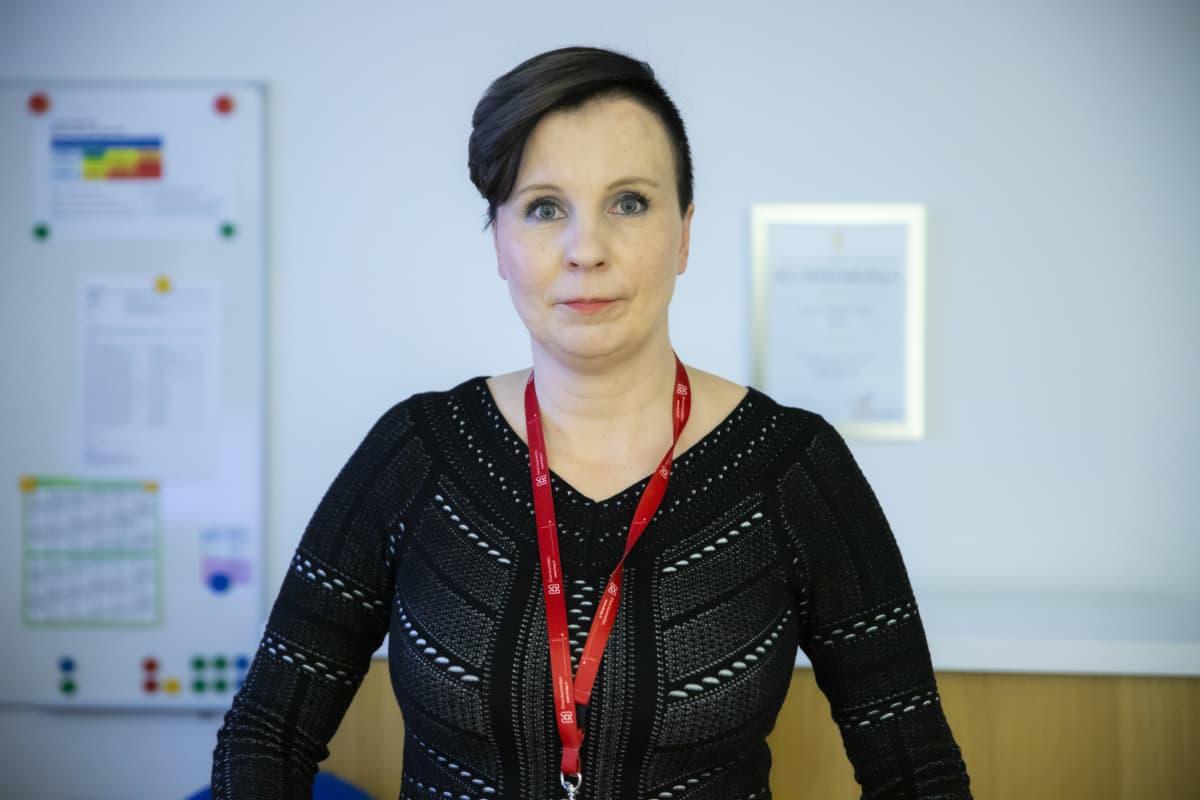 Kanta-Hämeen keskussairaalan johtajaylilääkäri Sally Järvelä.