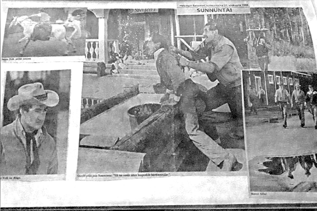 Lehtileikkeitä Ähtärin lännenkylästä 80-luvulta