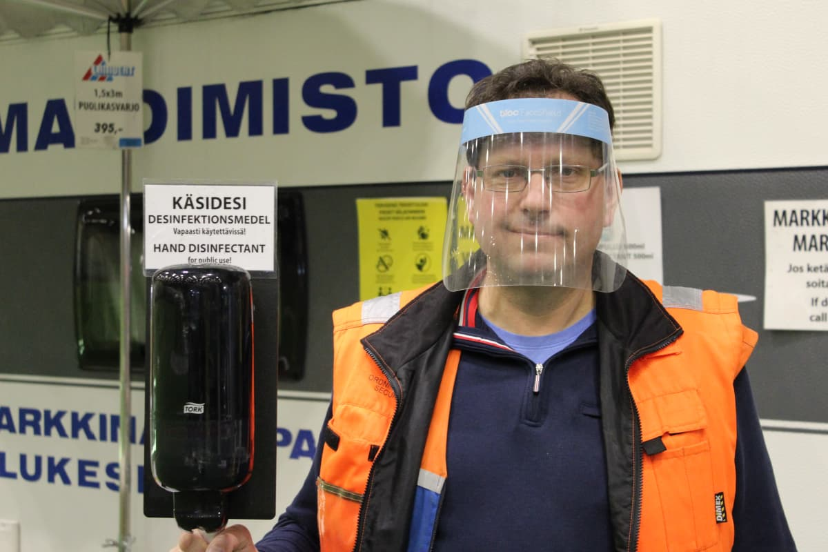 Tori- ja markkinakaupan palvelukeskuksen toiminnanjohtaja Ari Kallas