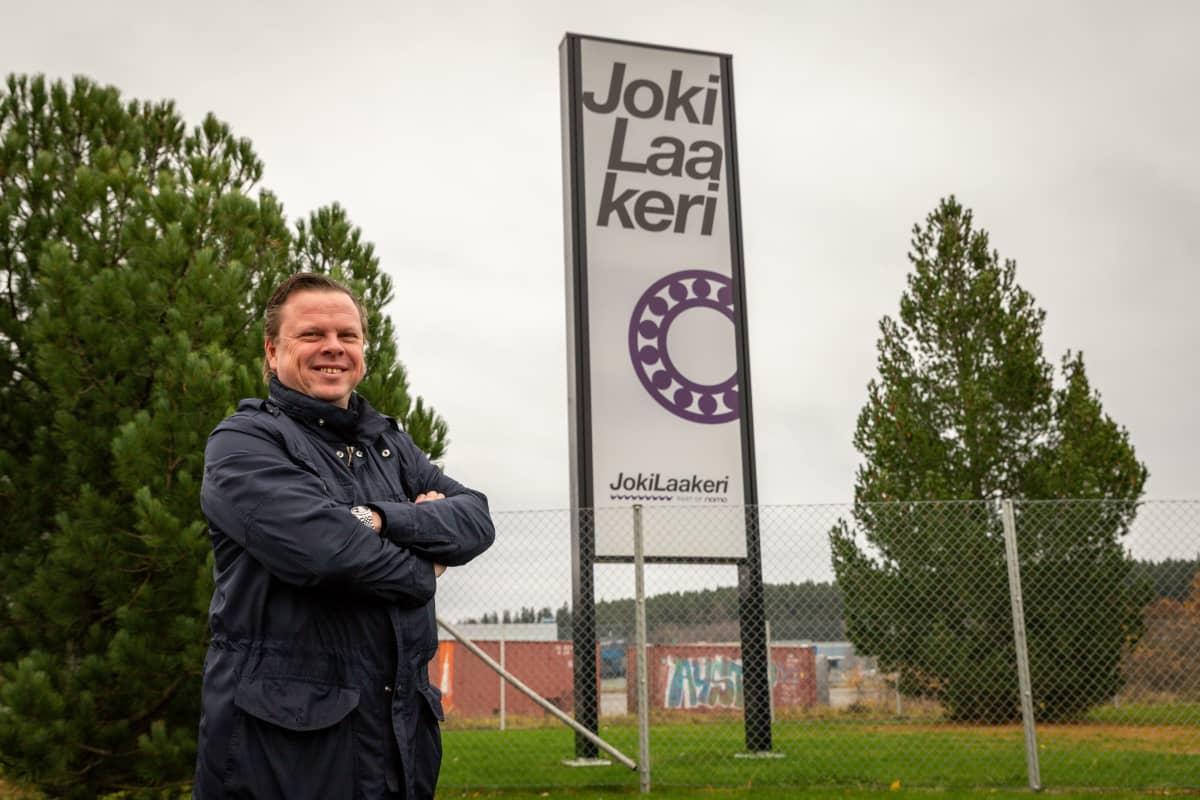 Jokilaakeri Oy toimitusjohtaja Jori Paatsjoki