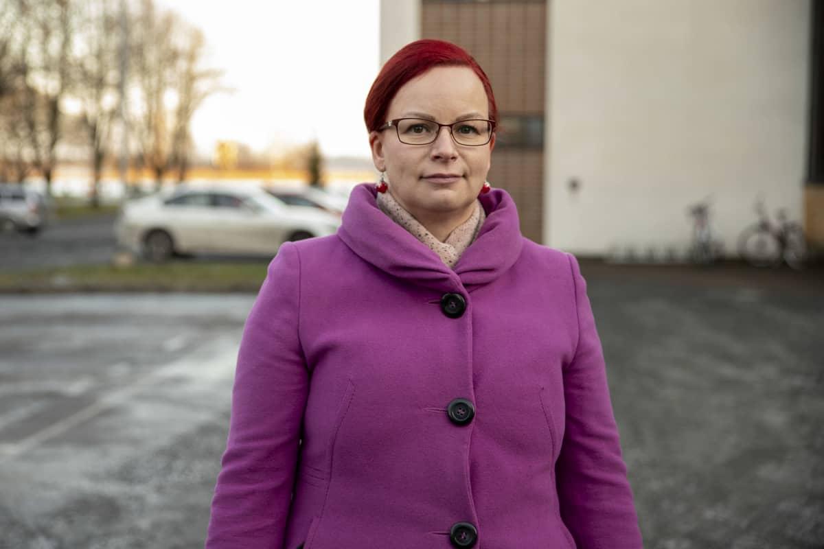 Kuopion SOL-siivouspalveluiden palvelujohtaja Lia-Maria Ihatsu.