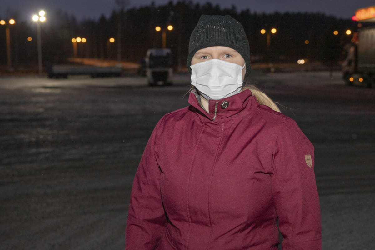 Sairaanhoitaja Lotta Ojala.