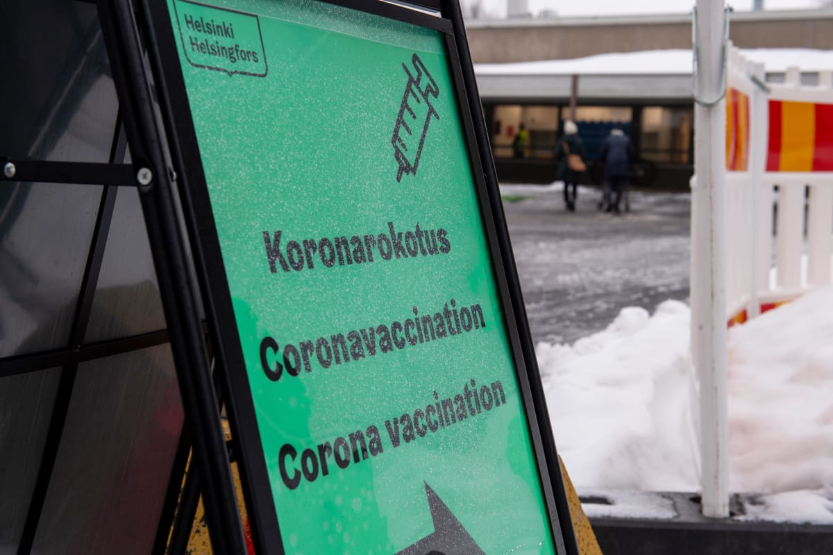 Pohjois-Helsingin koronarokotuspiste. Malmi.