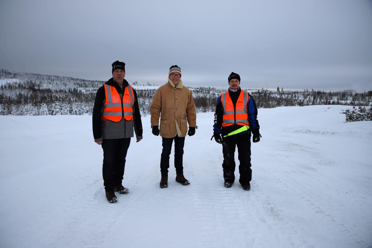 Antti Kerkelä, Harri Vatanen ja Juho Puikko