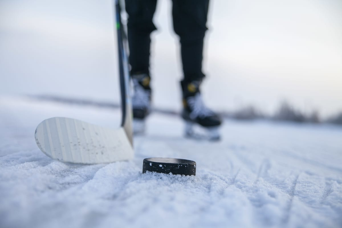 Matilda Nilsson, pelaamassa jääkiekkoa Kuopiossa