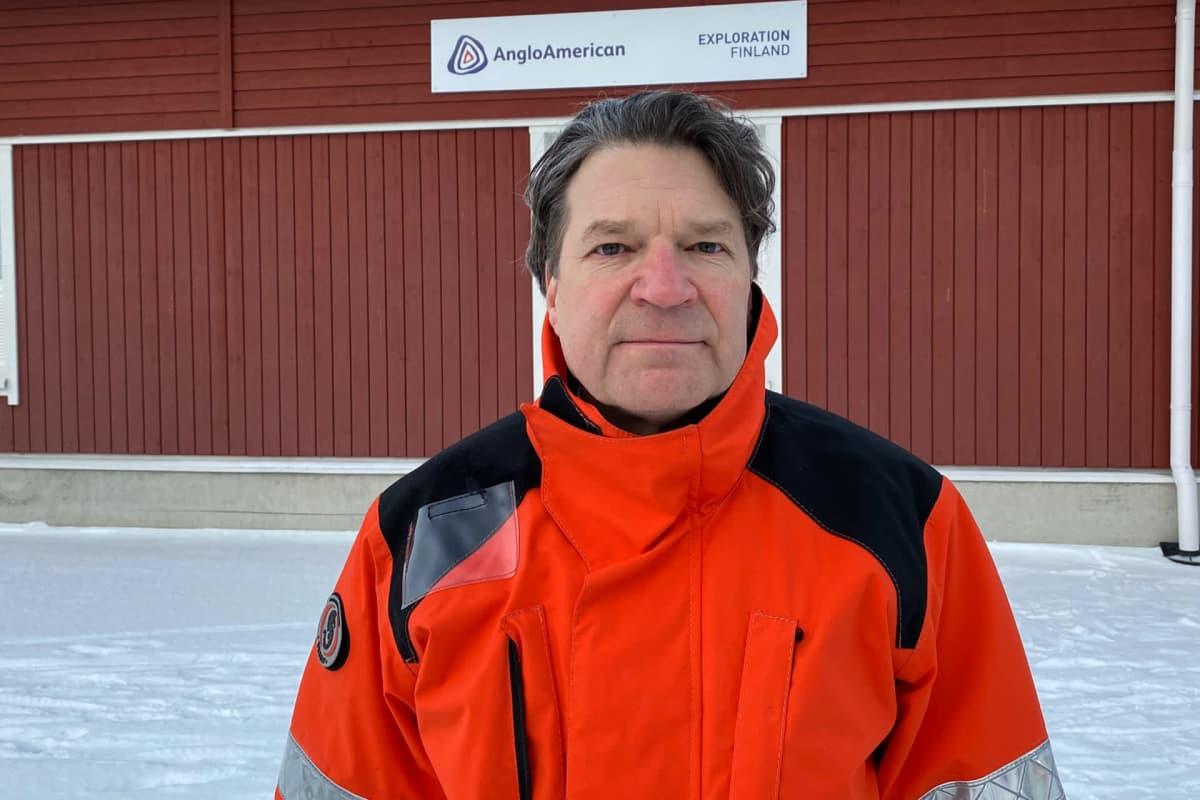 AA Sakatti Mining Oy:n toimitusjohtaja Pertti Lamberg.