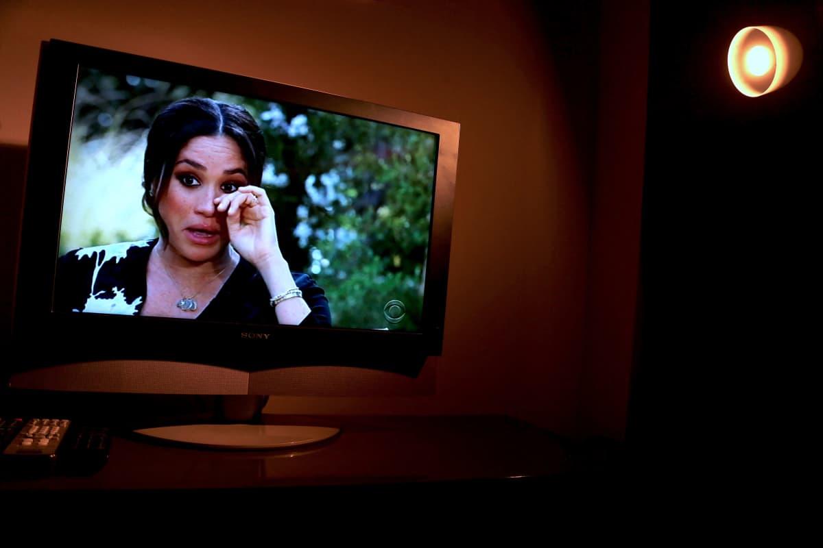 Meghan Oprahin haastattelussa sunnuntaina.