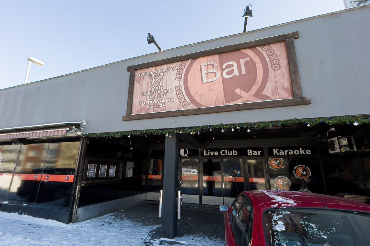 Bar Q -ravintola Imatralla.