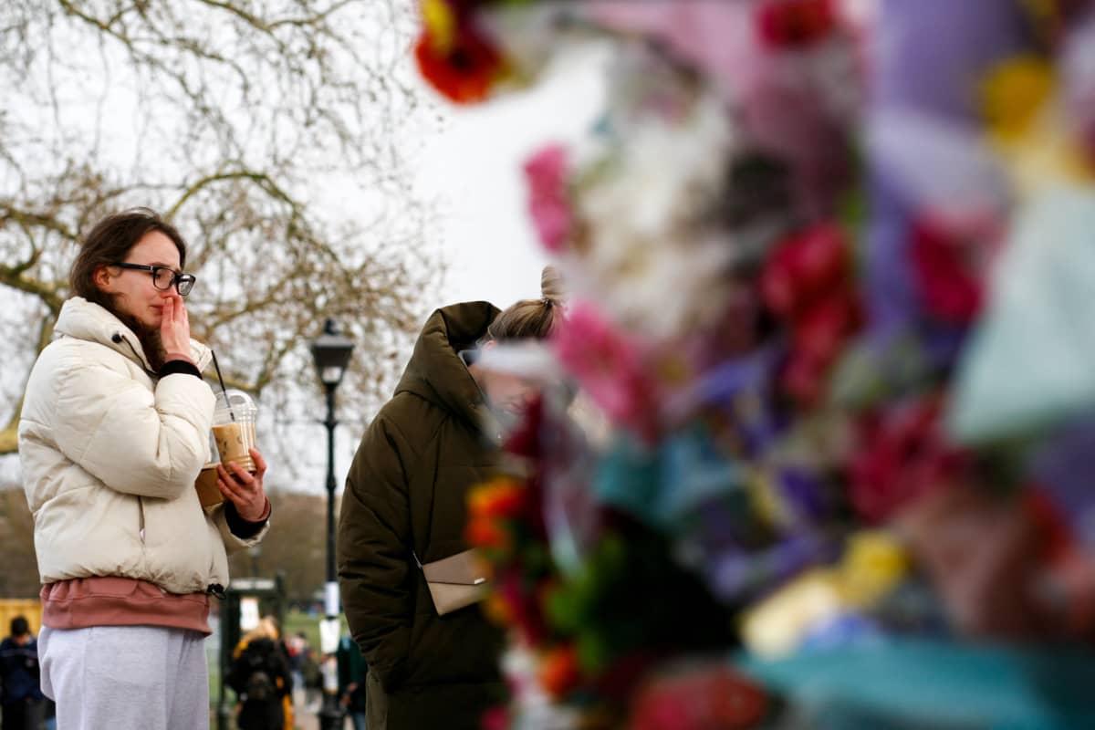 33-vuotiasta Sarah Everardia muistettiin Lontoossa lauantaina.
