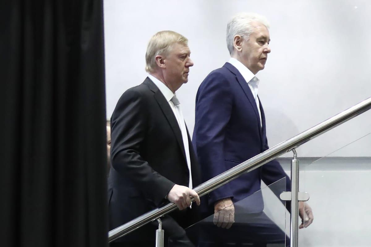 Anatoli Tšubais ja Sergei Sobjanin