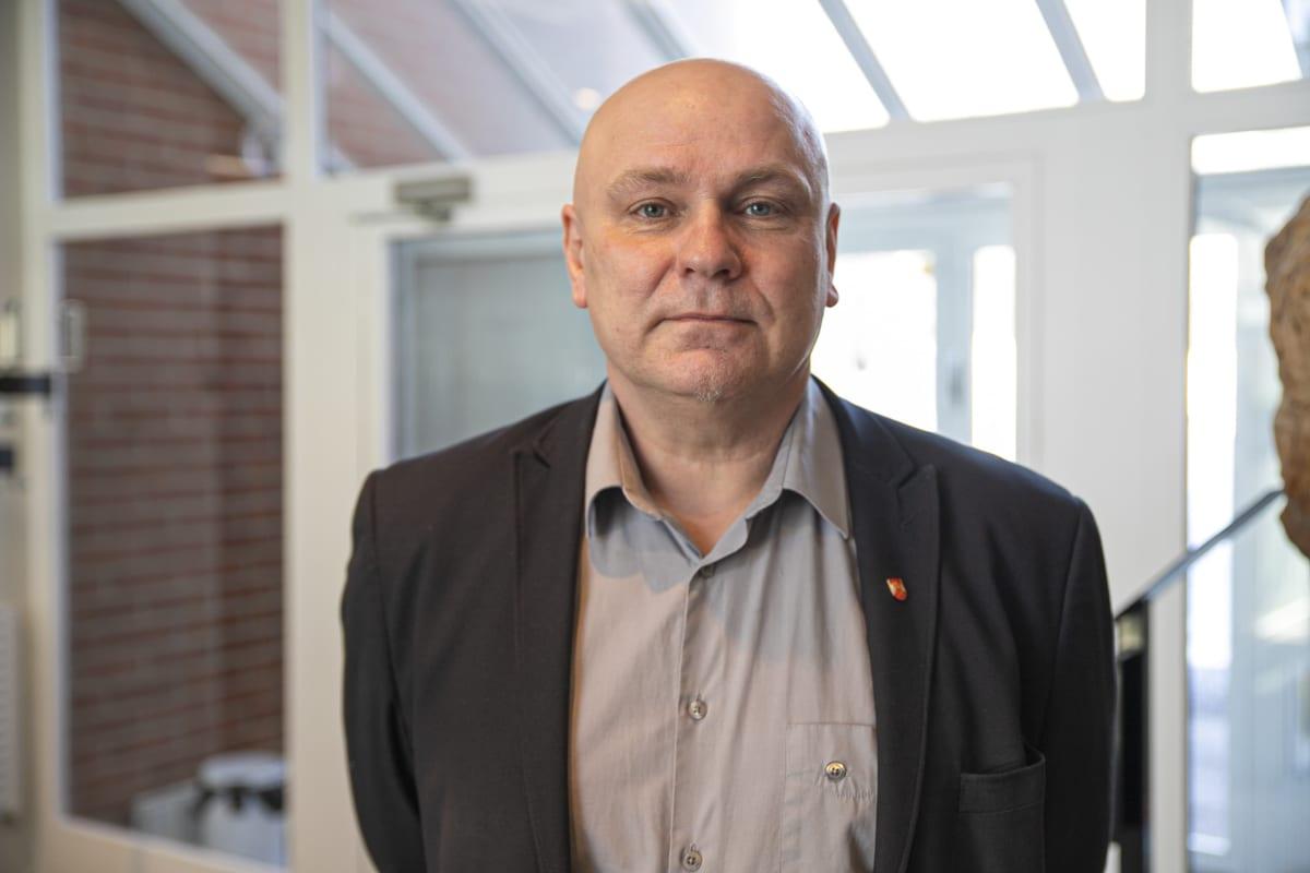 Jarkko Fågel hartolan kunnanhallituksen puheenjohtaja.