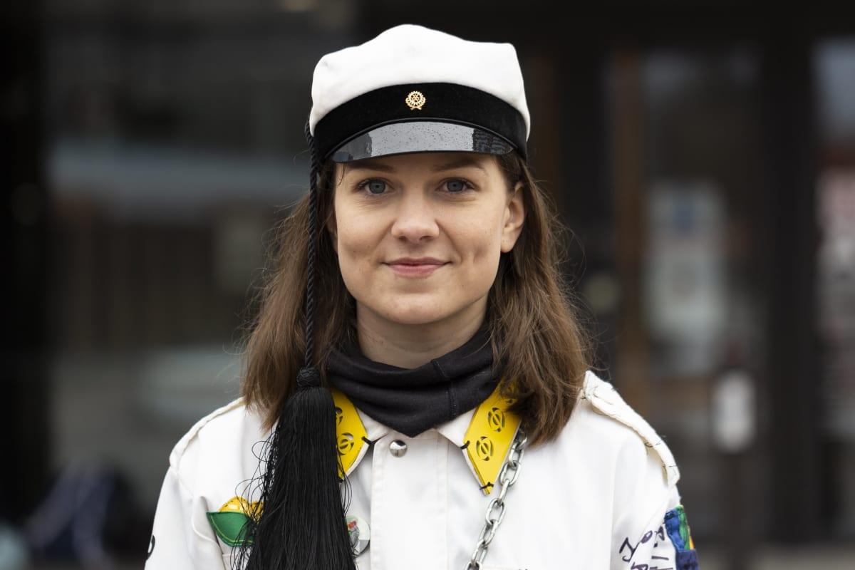 Aalto-yliopiston opiskelija Pinja Helasuo.