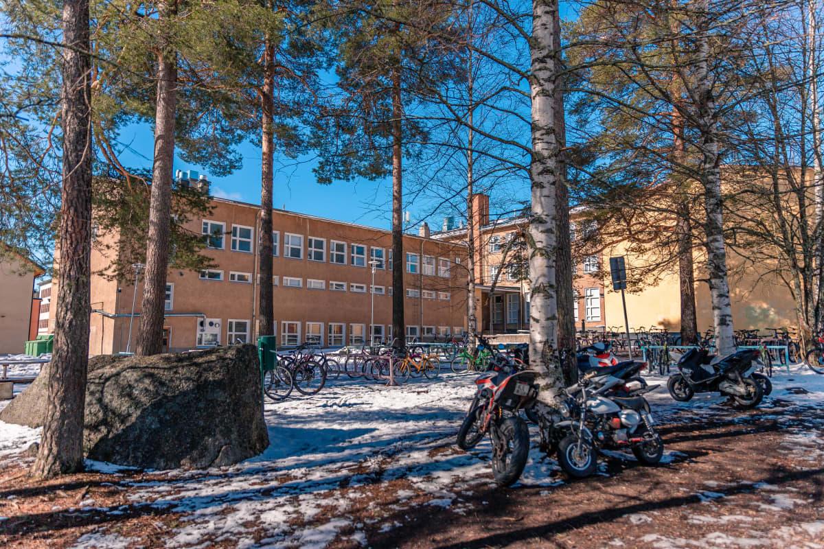 Koulunmäen koulu, Äänekoski.