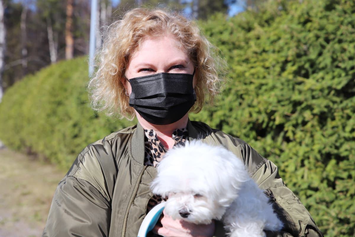 Lapin allergia- ja astmayhdistyksen varapuheenjohtaja Anna-Stina Määttä