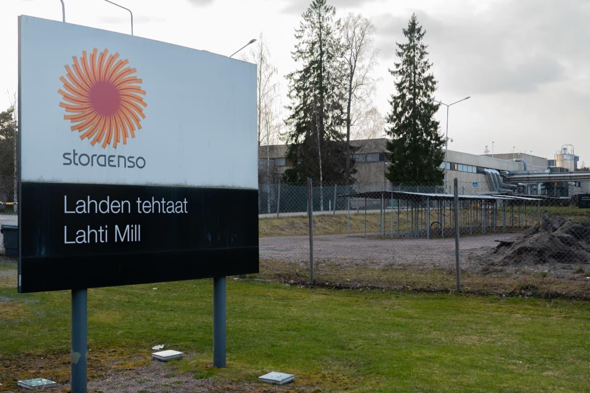 Stora Enson Lahden-tehdas