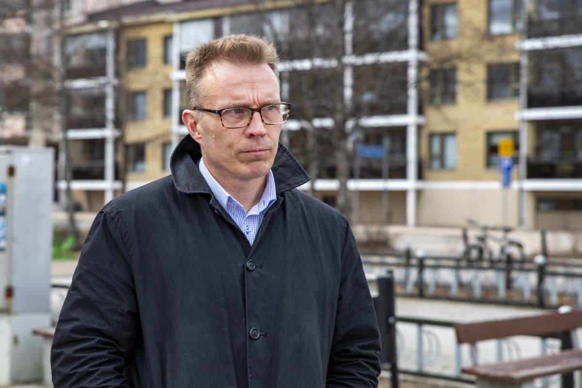 Kokoomuksen kansanedustaja Jukka Kopra.