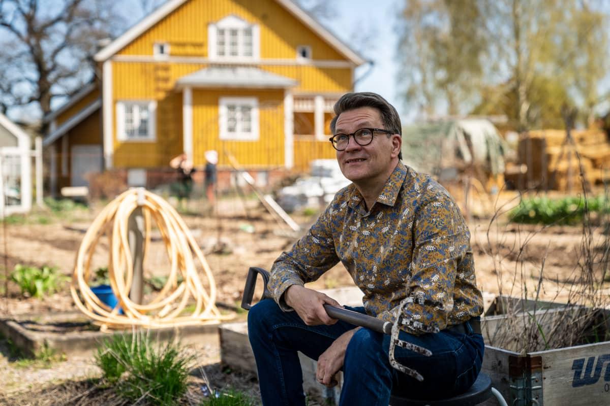 Timo Taulavuori, puutarhaliitto