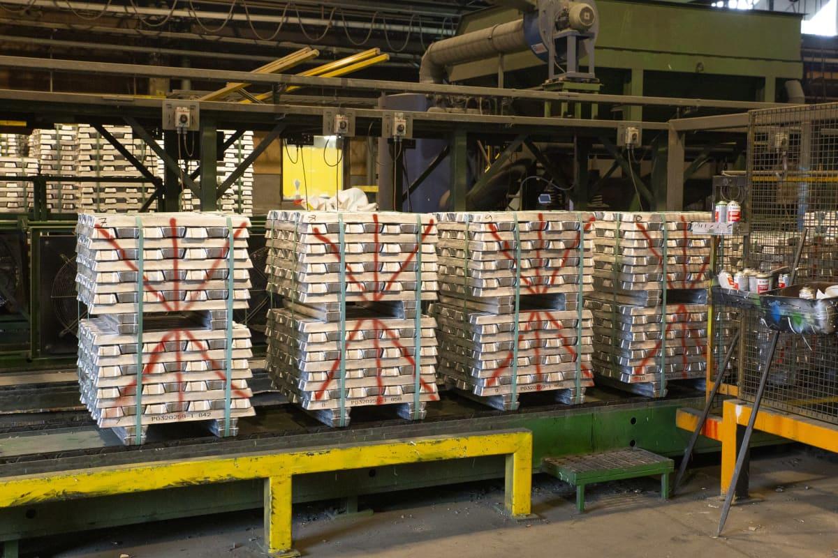 alumiiniharkot ja sulatus