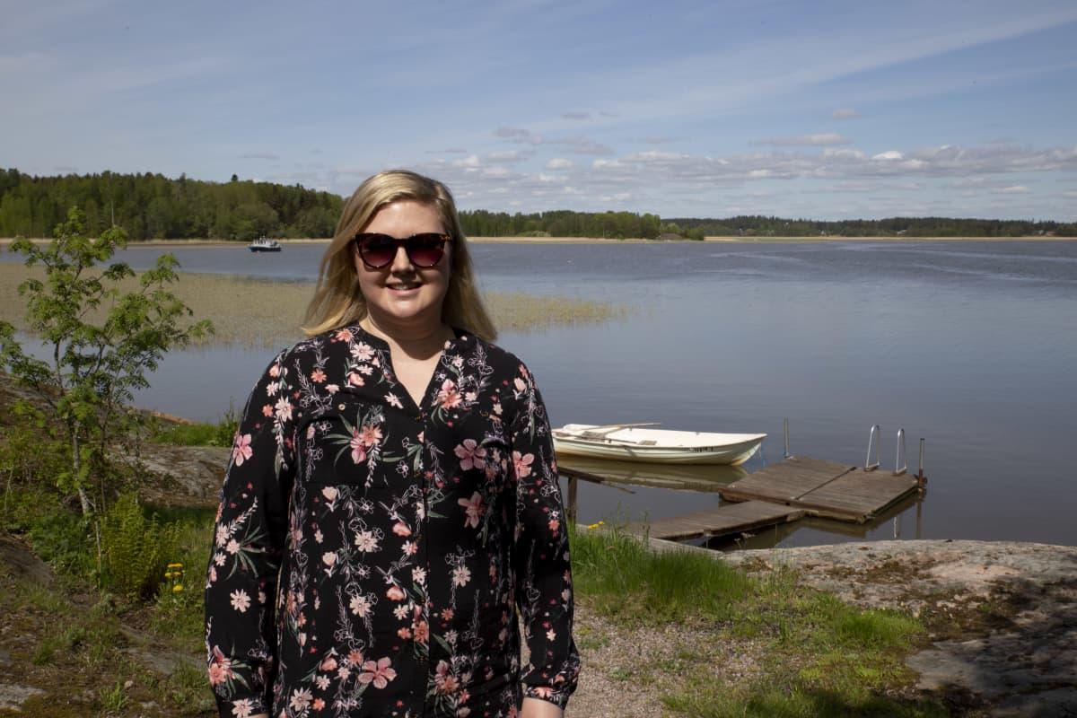 Linda Roihio-Huovila Örnvik Freetime mökkien omistaja