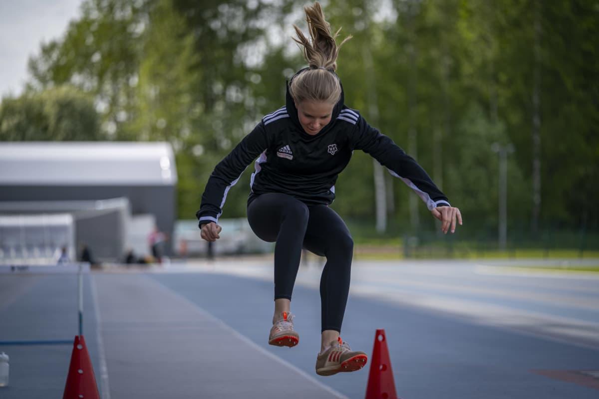 Vammaisurheilija Vilma Berg