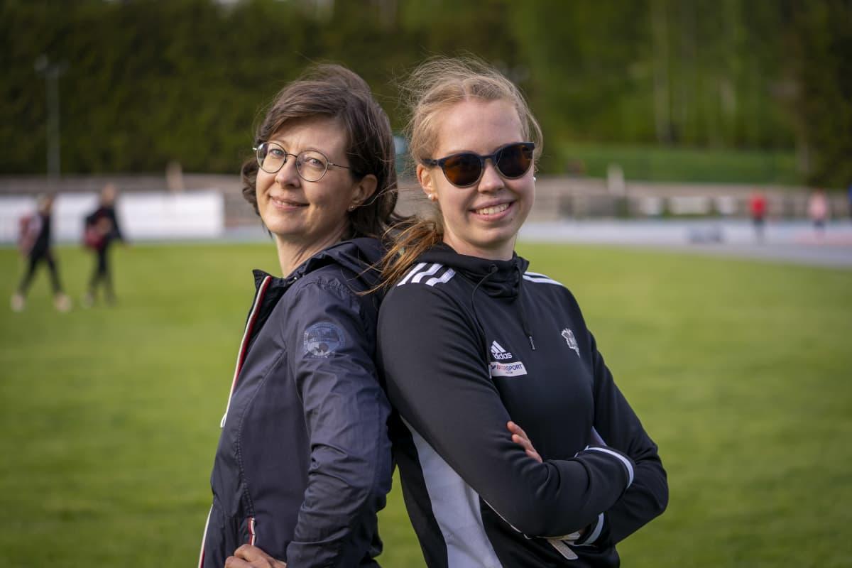Iida ja Kirsi Lounela