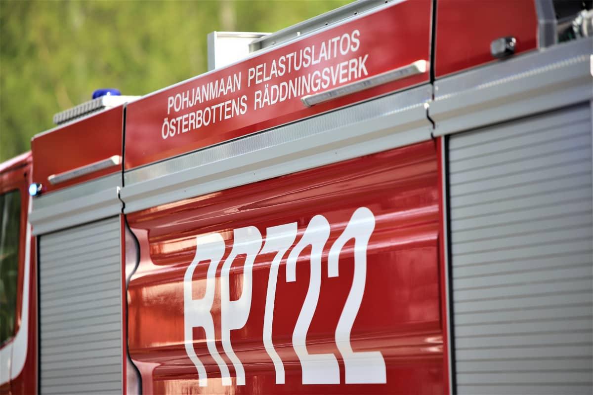 Tulipalo Vaasassa 26.5.2021