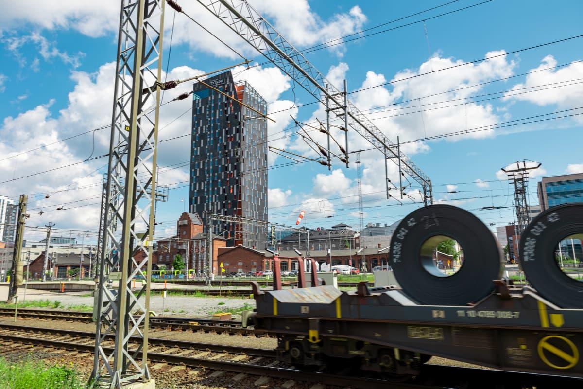 Tampereen rautatieaseman ratapiha