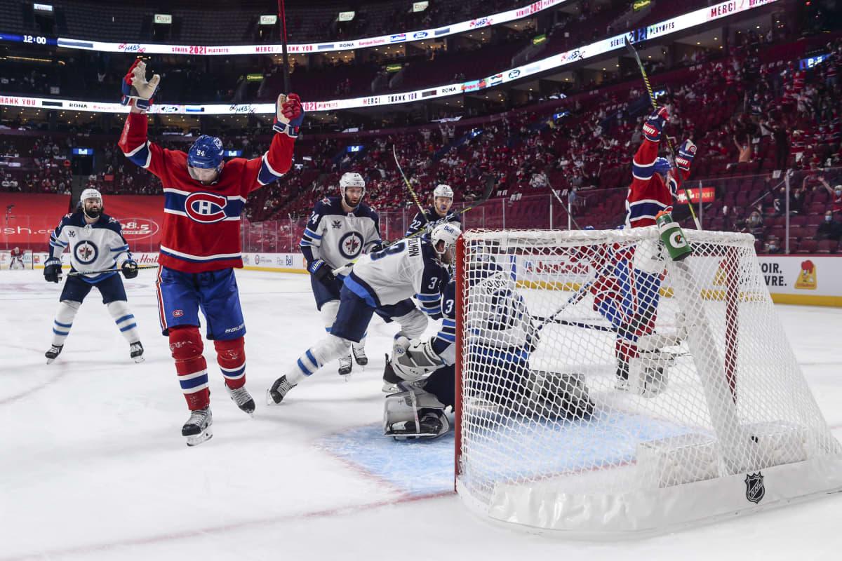 Montreal raivasi tieltään Winnipegin suoraan voitoin 4-0.