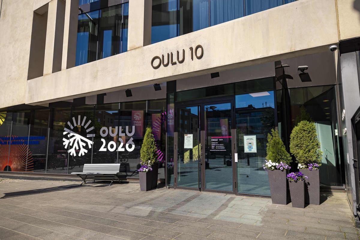 Oulun Oulu10 rakennus