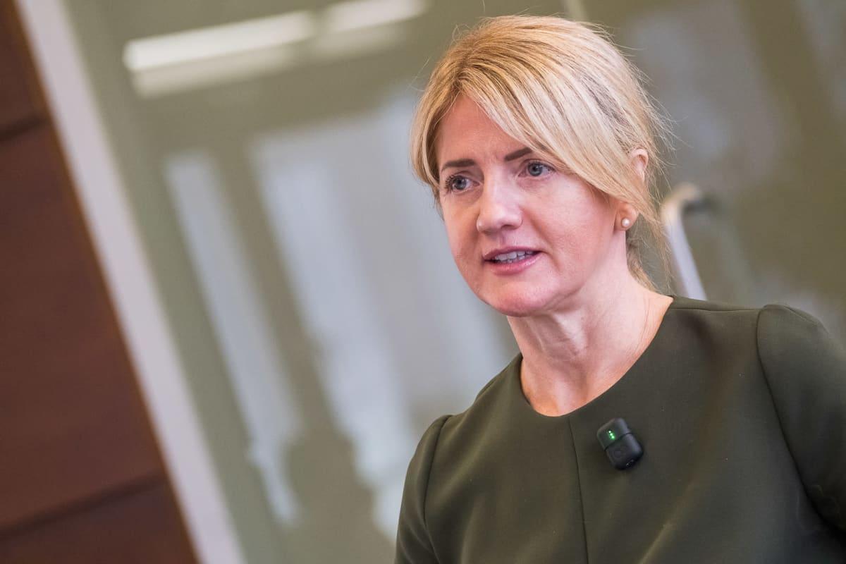 Viron ulkoministeri Eva-Maria Liimets.