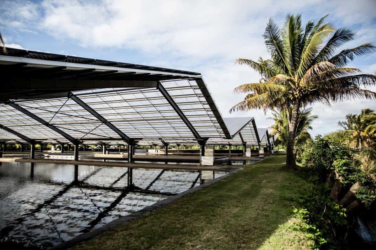 Kestävään energiaan keskittyvä yritys Reunionin saarella.
