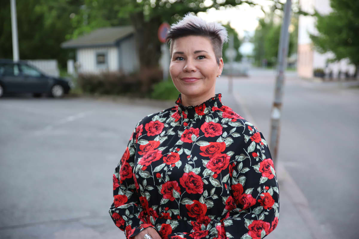 SDP:n kaupunginvaltuutettu Paula Werning.