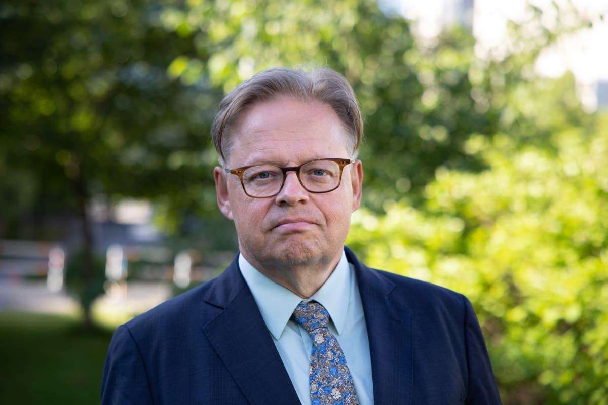 Helsingin uusi pormestari Juhana Vartiainen.