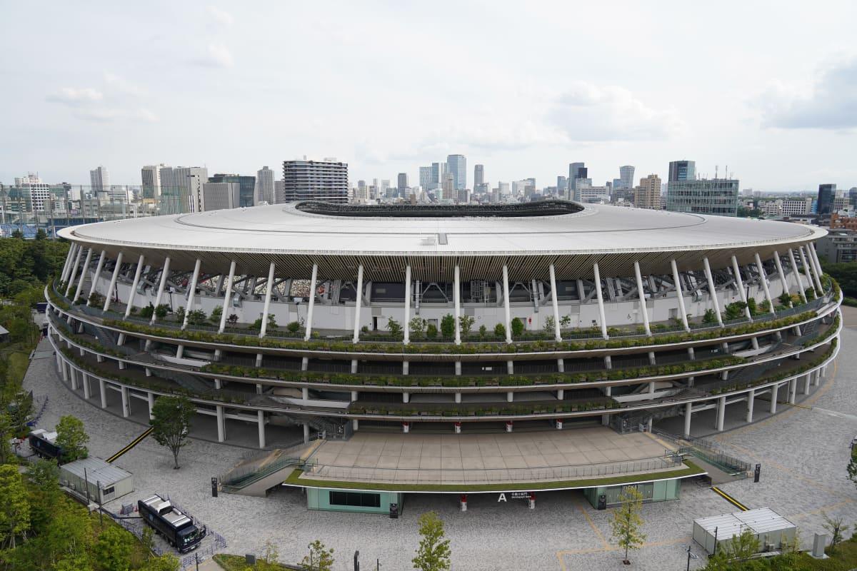 Tokion olympiakisojen ja paralympialaiseten päänäyttämä näyttää tältä.